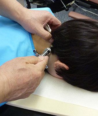 上部頸椎テクニック