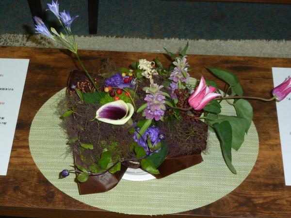 患者さまより、ステキなお花をいただきました。