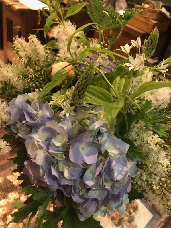 患者さまより、綺麗なお花を頂きました。