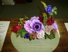 患者さまよりバレンタインのステキなお花を頂きました。