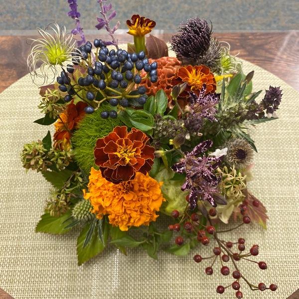 通院されている患者さまからステキなお花を頂きました。